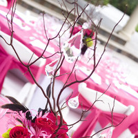 Beauty, Inspiration, Reception, Flowers & Decor, pink, black, Feathers, Centerpieces, Flowers, Centerpiece, Board, Hot, Crystals, Braches, Simply that flowers