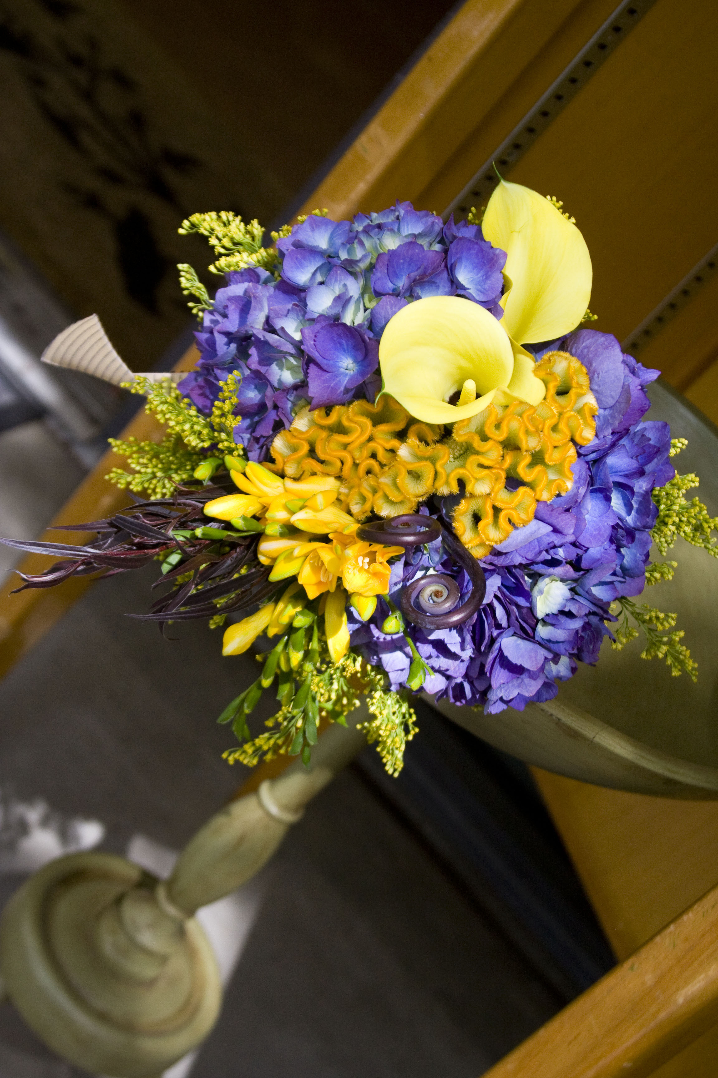 Bridal Flowers Blue Mountains : Bridesmaid bouquet for a outdoor mountain wedding colors