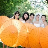 Bridesmaids, Bridesmaids Dresses, Fashion, orange, Ashley bartoletti photography