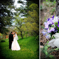 Inspiration, Flowers & Decor, purple, green, Bride Bouquets, Bride, Flowers, Groom, Board, Kissing, Ashley bartoletti photography, Forrest