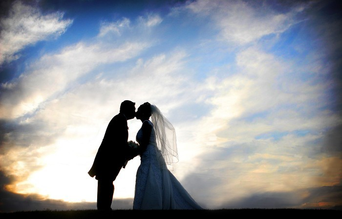 black, Bride, Groom, Portrait, Sunset, Ashley bartoletti photography