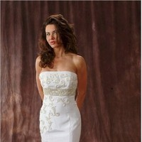Wedding Dresses, Fashion, white, silver, dress, Gown, Train, Wedding, Bridal, Designer, Strapless, Strapless Wedding Dresses, Couture, Dresses, Gowns, Chapel, Beaded, Beads, Darius cordell couture inc, Cordell, Darius