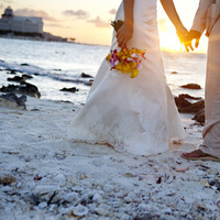 Bride, Groom, Portrait, Sunset, Abstract, Ashley bartoletti photography