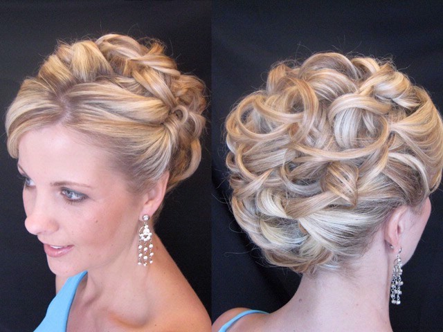 Beauty, Updo, Curly Hair, Hair, Curly