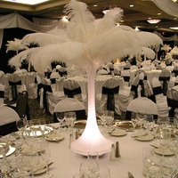 Beauty, Reception, Flowers & Decor, white, silver, Feathers, Feather