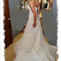 Wedding Dresses, Fashion, white, pink, dress, Gown, Maggie, Sottero, Diamonwhite, Mirabella
