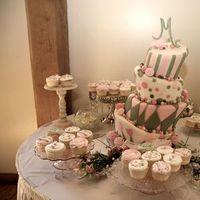 Flowers & Decor, Bridesmaids, Bridesmaids Dresses, Fashion, pink, green, Bridesmaid Bouquets, Flowers, Bridesm, Flower Wedding Dresses
