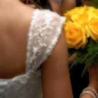 Flowers & Decor, Wedding Dresses, Fashion, white, yellow, dress, Flowers, inc, Tnt photography, Flower Wedding Dresses