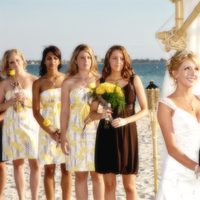 Beauty, Ceremony, Flowers & Decor, Jewelry, Bridesmaids, Bridesmaids Dresses, Wedding Dresses, Fashion, white, yellow, brown, black, dress, Makeup, Ceremony Flowers, Bridesmaid Bouquets, Flowers, Hair, inc, Tnt photography, Flower Wedding Dresses