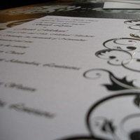 Stationery, white, black, Invitations, Black and white, My gatsby
