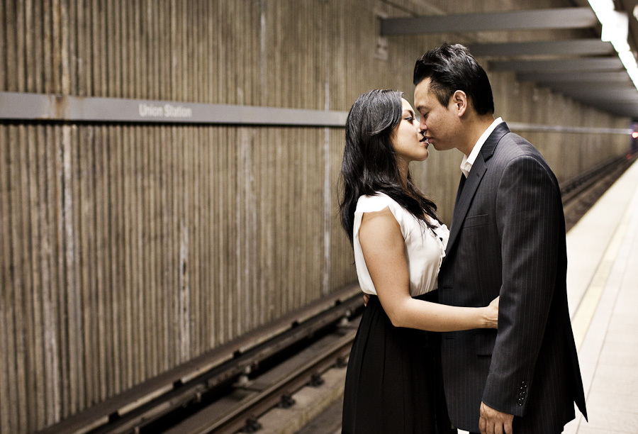Henry chan photography, Engagement session, Union station