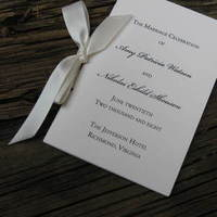 Ceremony, Inspiration, Flowers & Decor, Stationery, white, Invitations, Wedding, Program, Board, The write touch