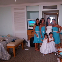 Bridesmaids, Bridesmaids Dresses, Wedding Dresses, Fashion, white, blue, dress