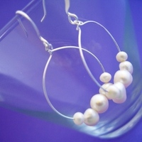 Jewelry, Bridesmaids, Bridesmaids Dresses, Fashion, white, silver, Pearl, Freshwater, Spiffing jewelry