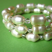 Jewelry, Bridesmaids, Bridesmaids Dresses, Fashion, white, Bridal, Pearls, Crystals, Spiffing jewelry