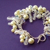 Jewelry, Bridesmaids, Bridesmaids Dresses, Fashion, white, silver, Bridal, Pearls, Crystals, Spiffing jewelry