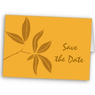 Stationery, orange, brown, gold, Fall, Announcements, Invitations, Save-the-Dates, Save the date, Announcement, Autumn, Leaves, Fall wedding, Fall leaves, Autumn leaves, Announce, Autumn wedding, A wedding collection by lora severson photography, Wedding save the date