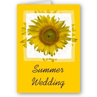 Flowers & Decor, Stationery, white, yellow, Summer, Announcements, Invitations, Save-the-Dates, Flower, Save the date, Floral, Announcement, Summer wedding, Sunflower, Announce, A wedding collection by lora severson photography, Wedding save the date, Sunflower wedding, Floral wedding