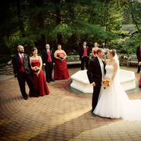 Bridesmaids, Bridesmaids Dresses, Wedding Dresses, Fashion, red, dress, Laura leigh photo