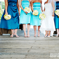 Bridesmaids, Bridesmaids Dresses, Wedding Dresses, Fashion, blue, dress, Laura leigh photo