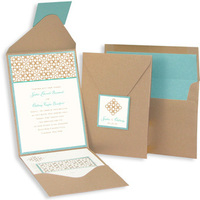 Stationery, green, brown, Invitations, Rsvp, Envelope, Pocket, Enclosure, Platinum invitations stationery, Addressed