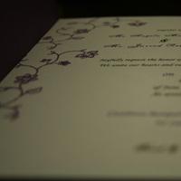 Stationery, purple, invitation, Invitations