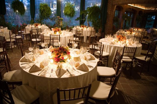 Reception, Flowers & Decor, Centerpieces, Candles, Flowers, Centerpiece, Table, Lights, Settings, Gramercy mansion
