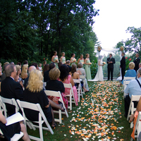 Ceremony, Flowers & Decor, Bridesmaids, Bridesmaids Dresses, Wedding Dresses, Fashion, dress, Ceremony Flowers, Bride Bouquets, Bridesmaid Bouquets, Garden, Groomsmen, Guests, Bride, Flowers, Garden Wedding Flowers & Decor, Groom, Gramercy mansion, Flower Wedding Dresses