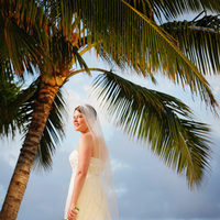 Beauty, Inspiration, Wedding Dresses, Destinations, Fashion, white, dress, Makeup, Hawaii, Bride, Gown, Wedding, Board, Hawaii weddings - kauai wedding planner