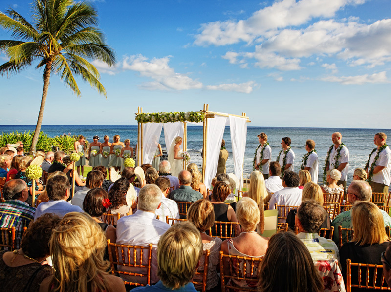 Ceremony, Inspiration, Flowers & Decor, Destinations, blue, green, silver, Hawaii, Beach, Beach Wedding Flowers & Decor, Wedding, Board, Hawaii weddings - kauai wedding planner