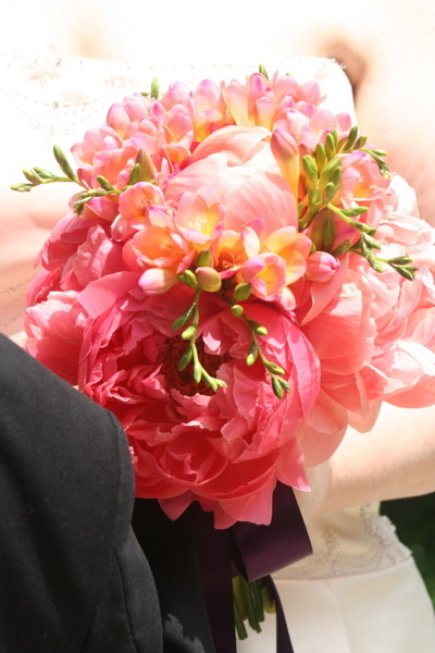 pink, Bridesmaid Bouquets, Summer Wedding Flowers & Decor