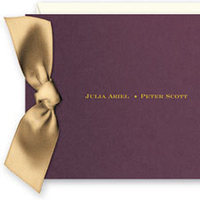 Stationery, purple, Invitations