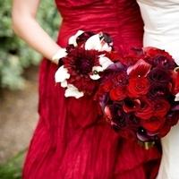 Flowers & Decor, red, Garden, Flowers, Garden Wedding Flowers & Decor, Bouquets, Enchanted