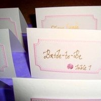 Stationery, pink, gold, Invitations, Better together events