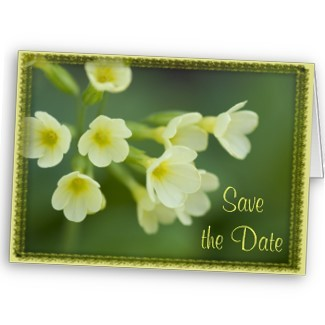 Flowers & Decor, Stationery, yellow, green, Announcements, Invitations, Save-the-Dates, Flower, Save the date, Floral, Announcement, Yellow flowers, Announce, A wedding collection by lora severson photography, Wedding save the date, Floral wedding, Yellow wedding, Yellow floral