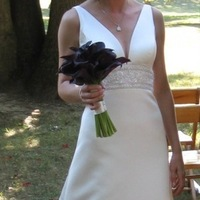 Flowers & Decor, purple, black, Bride Bouquets, Flowers, Bouquet, Calla, bridal bouquet, Pollen