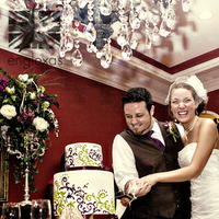 Cakes, white, purple, green, cake, Cutting, Englexas photography