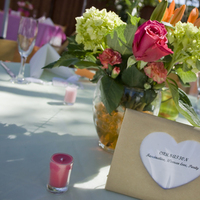 Reception, Flowers & Decor, white, pink, Centerpieces, Flowers, Centerpiece, Kelly freedman photography