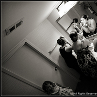 Beauty, Bridesmaids, Bridesmaids Dresses, Fashion, white, black, Makeup, Bathroom, Getting, Ready, Pre-ceremony, Gamboa photos