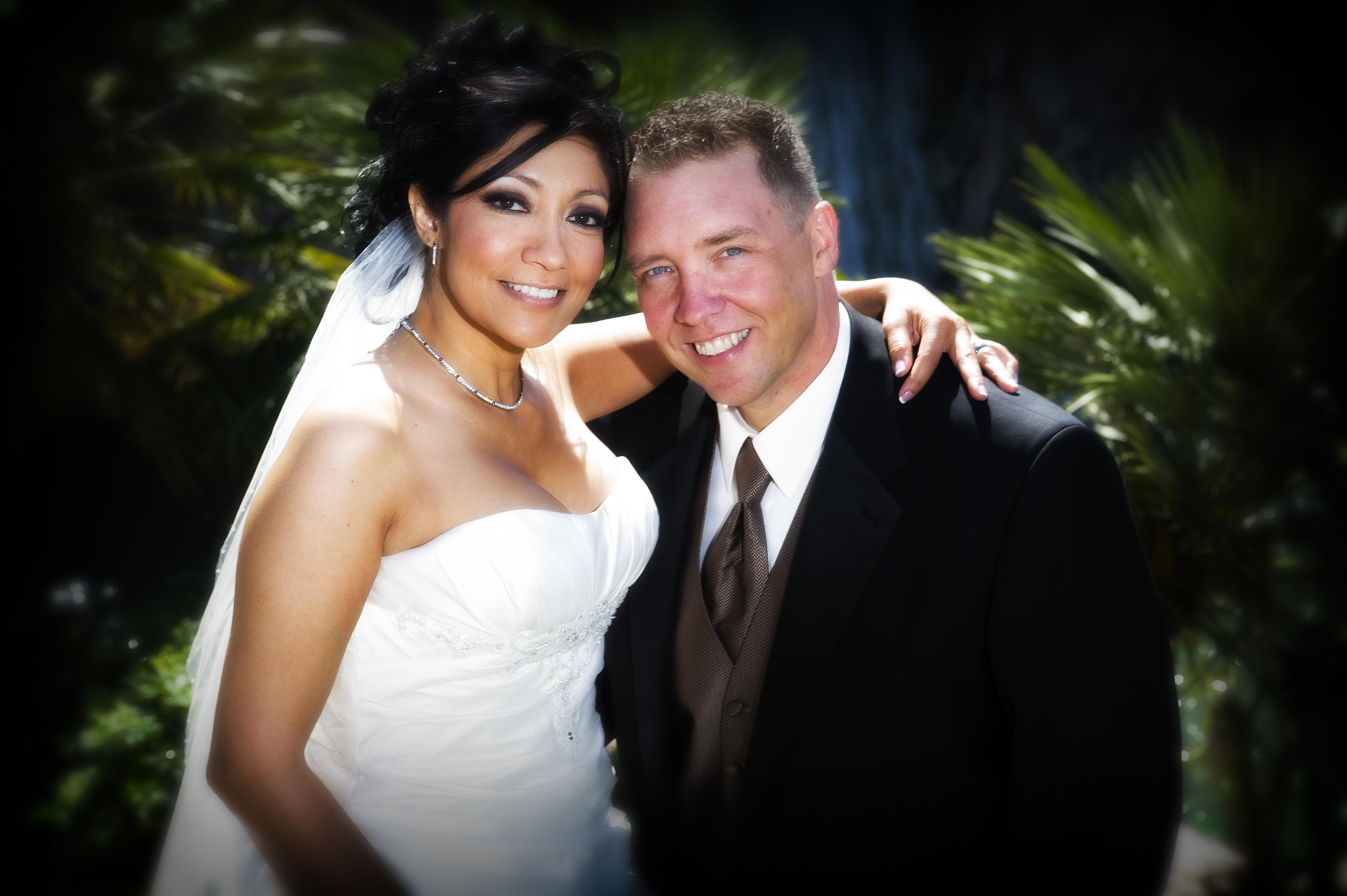 Beauty, Wedding Dresses, Fashion, white, black, dress, Bride, Groom, Hair, Water, Lnl photo