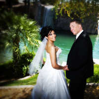 Beauty, Wedding Dresses, Fashion, white, black, dress, Bride, Groom, Hair, Water, Lnl photo