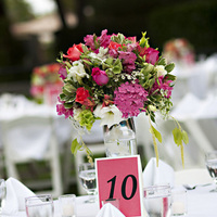 Reception, Flowers & Decor, white, pink, purple, green, Centerpieces, Flowers, Roses, Orchids, Hydrangea, Estate, Clarke, Ashleigh taylor photography