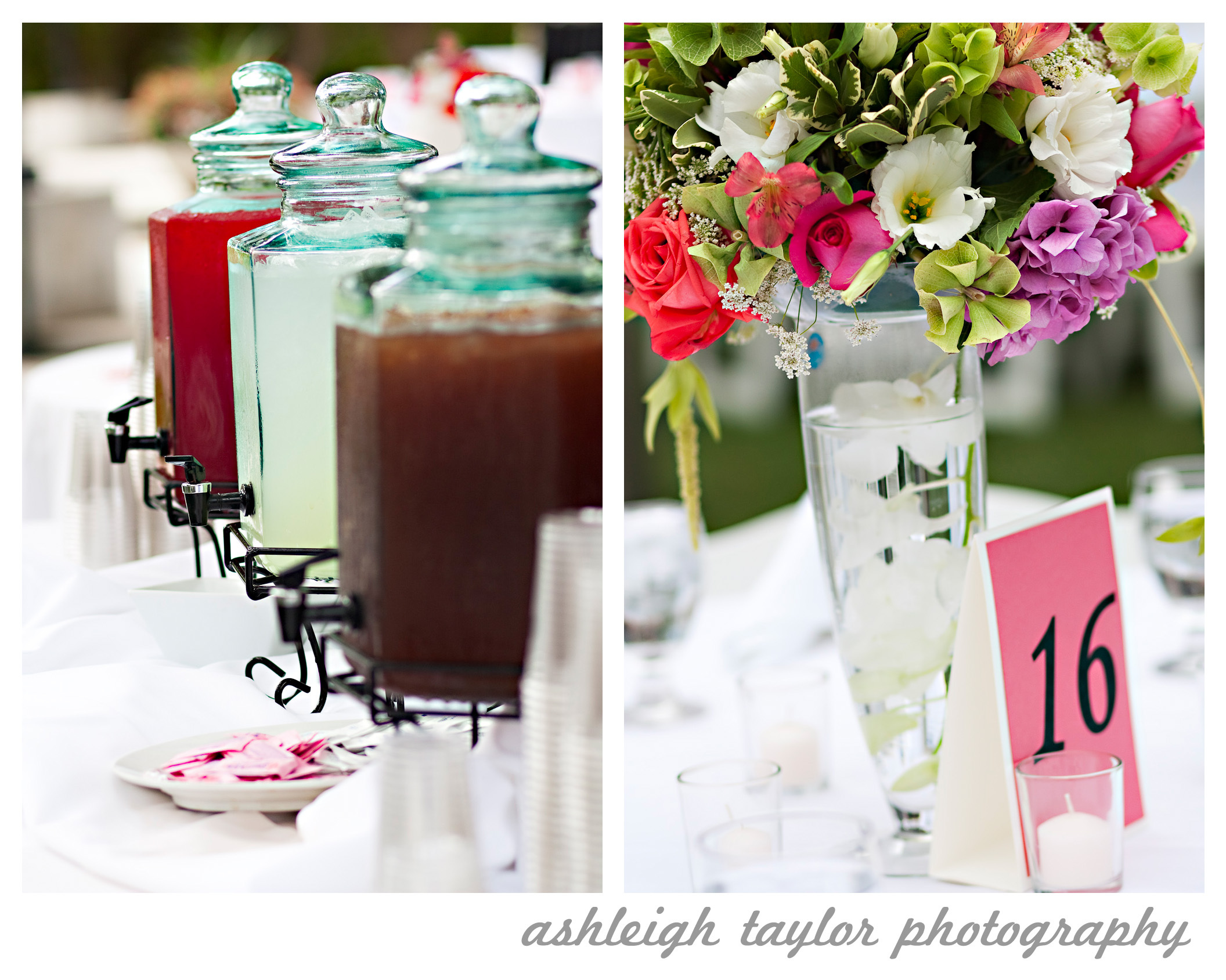 Reception, Flowers & Decor, white, pink, red, purple, Flowers, Ashleigh taylor photography