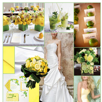 Inspiration, yellow, green, Cupcakes, Board, Lemons, Limes, David's Bridal, Alvina valentina, Lemon lime