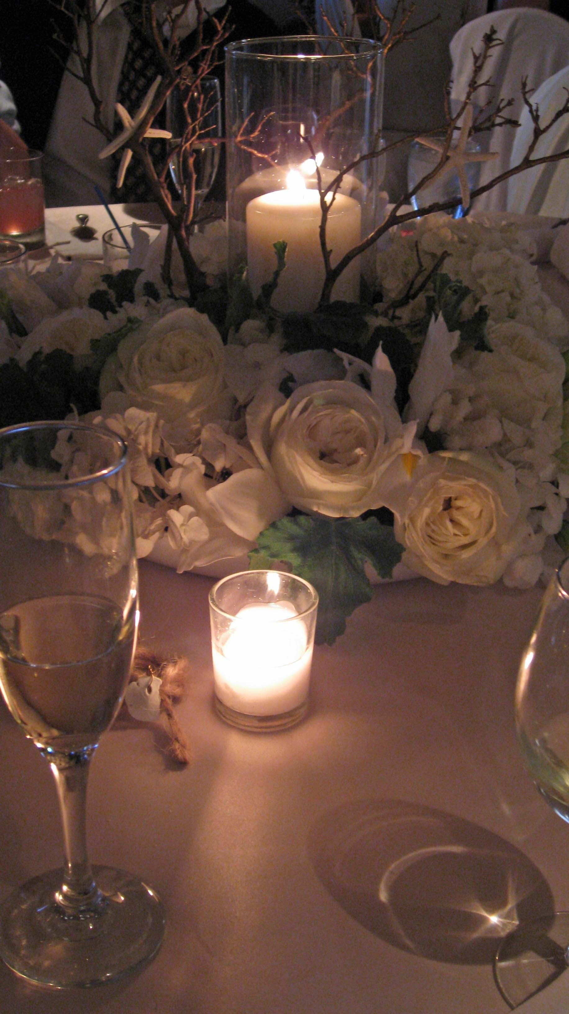 Ceremony, Inspiration, Reception, Flowers & Decor, white, yellow, green, gold, Ceremony Flowers, Centerpieces, Centerpiece, Board