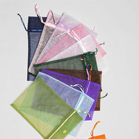 Jewelry, white, yellow, orange, pink, red, purple, blue, green, brown, black, gold, Bags, Chinese, inc, Organza, Velvet, Drawstring, Fetpak, Snap, Ouches, Pouches