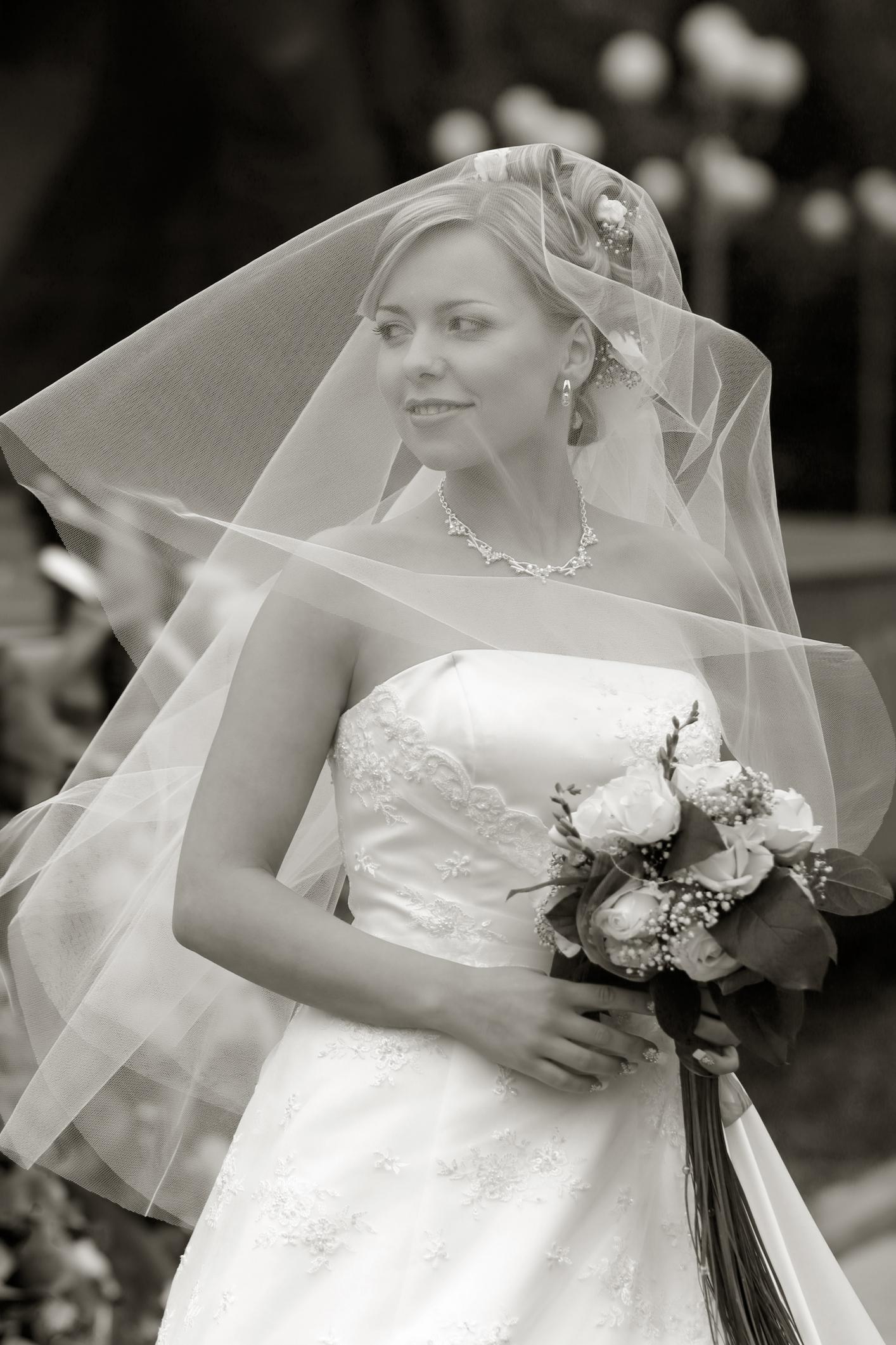 Wedding Dresses, Fashion, white, black, dress, Bride, Donald pope photography
