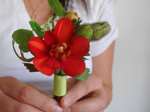 Flowers & Decor, red, Boutonnieres, Flowers, Boutonniere, Studio choo