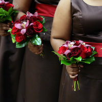 Bridesmaids, Bridesmaids Dresses, Fashion, red, Irises designs