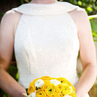 Flowers & Decor, Bridesmaids, Bridesmaids Dresses, Wedding Dresses, Fashion, white, yellow, dress, Bridesmaid Bouquets, Outdoor, Flowers, Portrait, Party, Bridal, Blueberry photography, Flower Wedding Dresses